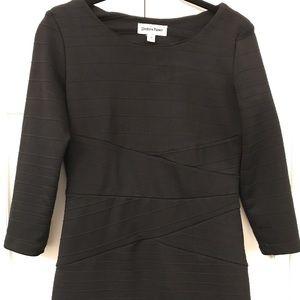 Shelby& Palmer Bodycon 3/4 sleeved dress